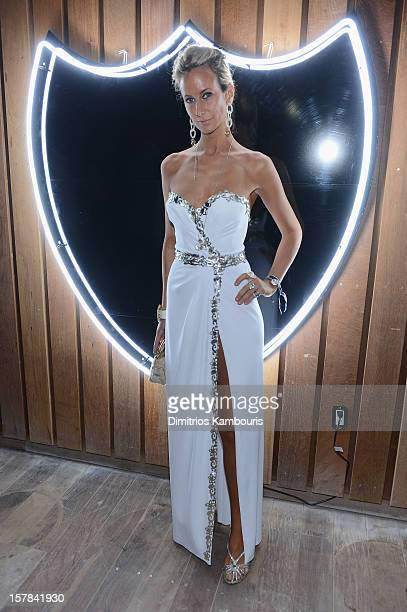 Lady Victoria Hervey attends the celebration of Dom Perignon Luminous Rose at Wall at W Hotel on December 6 2012 in Miami Beach Florida