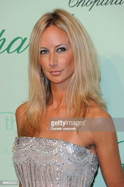 Lady Victoria Hervey attends the Chopard 150th Anniversary Party at the VIP Room Palm Beach during the 63rd Annual International Cannes Film Festival...