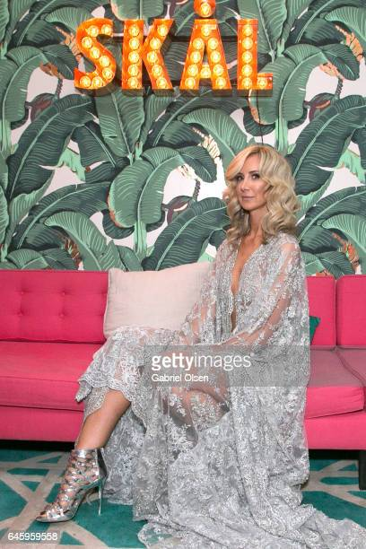 Lady Victoria Hervey attends the Circus Magazine Oscars Celebration Hosted By Steve Shaw and Jonas Tahlin CEO Absolut Elyx Sponsored by Volvo and...