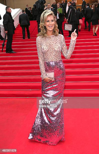 Lady Victoria Hervey attends the 'Foxcatcher' premiere during the 67th Annual Cannes Film Festival on May 19 2014 in Cannes France