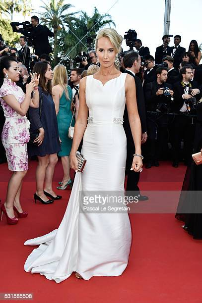 Lady Victoria Hervey attends the From The Land Of The Moon premiere during the 69th annual Cannes Film Festival at the Palais des Festivals on May 15...