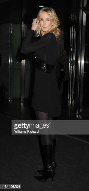 Lady Victoria Hervey attends the Julien MacDonald Autumn/Winter 2009/09 show at the Hilton Hotel on February 15 2008 in London England