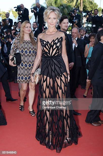 Lady Victoria Hervey attends the 'Julieta' premiere during the 69th annual Cannes Film Festival at the Palais des Festivals on May 17 2016 in Cannes...