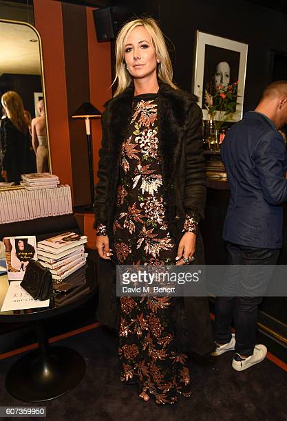 Lady Victoria Hervey attends the launch of model Pat Cleveland's new book Walking With The Muses at Blakes Below on September 17 2016 in London...
