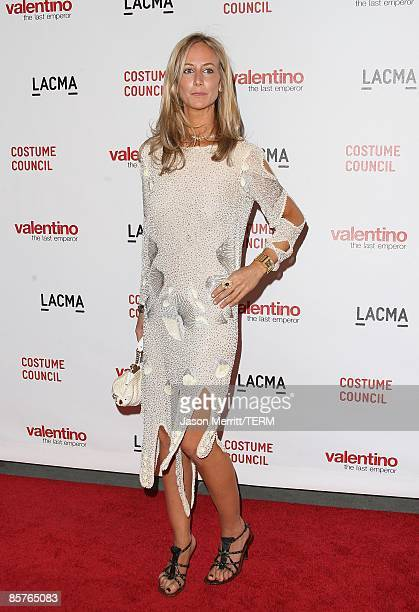 Lady Victoria Hervey attends the Los Angeles premiere of Valentino The Last Emperor at the Bing Theatre at LACMA on April 1 2009 in Los Angeles...