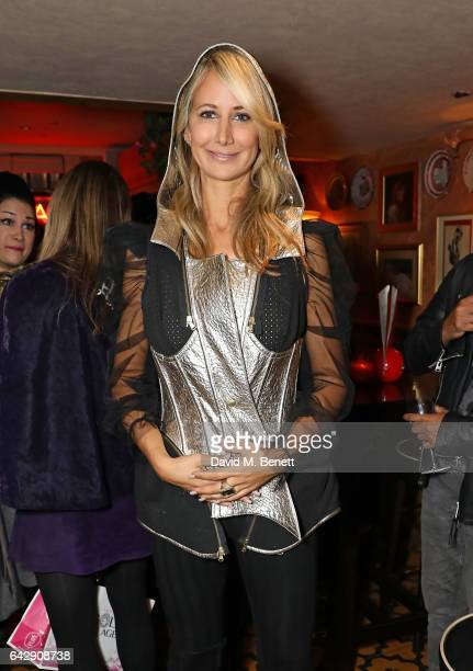 Lady Victoria Hervey attends the Pam Hogg aftershow party during the London Fashion Week February 2017 collections at Bunga Bunga on February 19 2017...