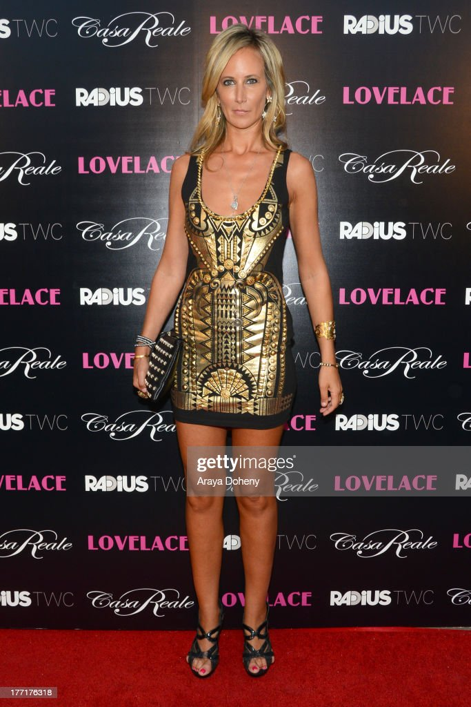 Lady Victoria Hervey attends the premiere of RADiUS-TWC's 'Lovelace' at the Egyptian Theatre on August 5, 2013 in Hollywood, California.