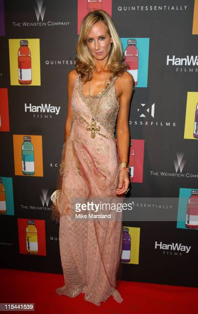 Lady Victoria Hervey attends the Quintessentially Party For 'Nowhere Boy' at la plage vitaminwater during the 62nd International Cannes Film Festival...