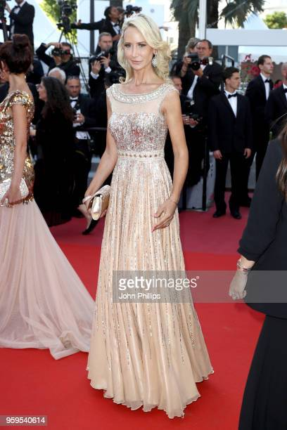 Lady Victoria Hervey attends the screening of 'Capharnaum' during the 71st annual Cannes Film Festival at Palais des Festivals on May 17 2018 in...