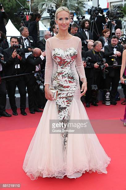 Lady Victoria Hervey attends the Slack Bay premiere during the 69th annual Cannes Film Festival at the Palais des Festivals on May 13 2016 in Cannes...