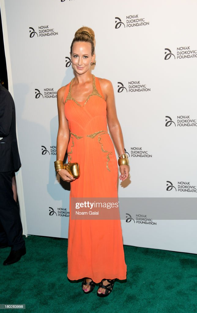 Lady Victoria Hervey attends the The 2013 Novak Djokovic Benefit Dinner at Capitale on September 10, 2013 in New York City.