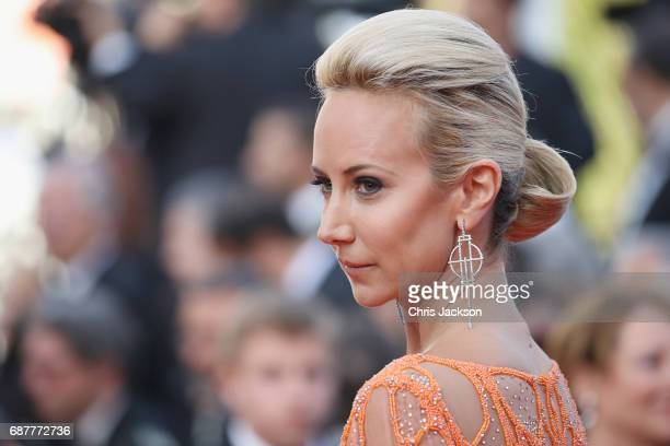 Lady Victoria Hervey attends the The Beguiled screening during the 70th annual Cannes Film Festival at Palais des Festivals on May 24 2017 in Cannes...