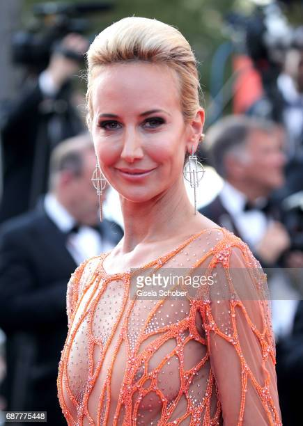 Lady Victoria Hervey attends the 'The Beguiled' screening during the 70th annual Cannes Film Festival at Palais des Festivals on May 24 2017 in...