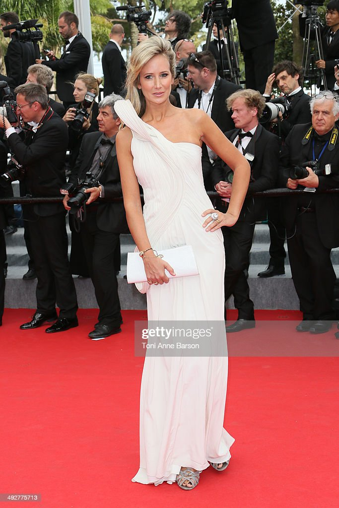 Lady Victoria Hervey attends the 'The Search' Premiere at the 67th Annual Cannes Film Festival on May 21, 2014 in Cannes, France.