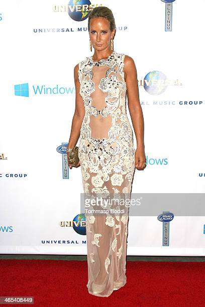 Lady Victoria Hervey attends the Universal Music Group 2014 post GRAMMY party held at The Ace Hotel Theater on January 26 2014 in Los Angeles...