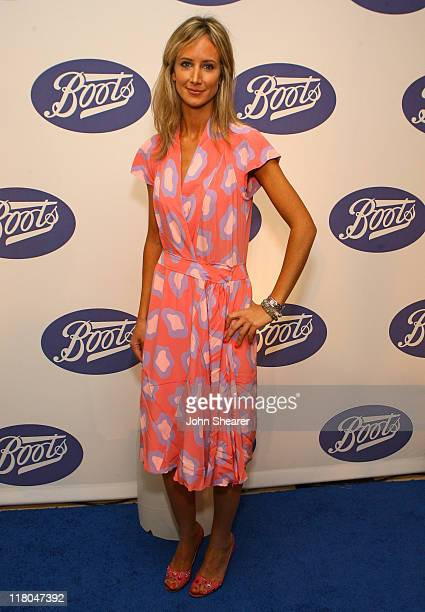 Lady Victoria Hervey during Boots the UK's Number One Health and Beauty Brand Celebrates Its US Launch Red Carpet at Sunset Tower in Los Angeles...
