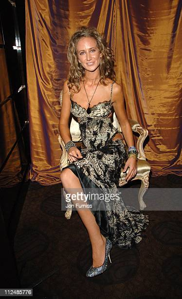 Lady Victoria Hervey during Gina Shoe's 50th Birthday Party at The Bar at The Dorchester at Dorchester Hotel in London Great Britain