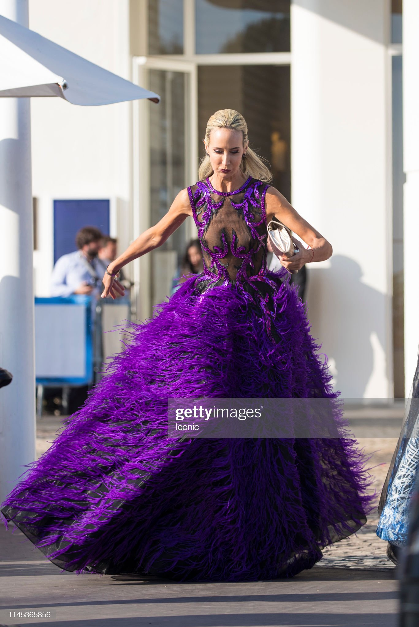 Celebrity Sightings At The 72nd Annual Cannes Film Festival - Day 8 : News Photo