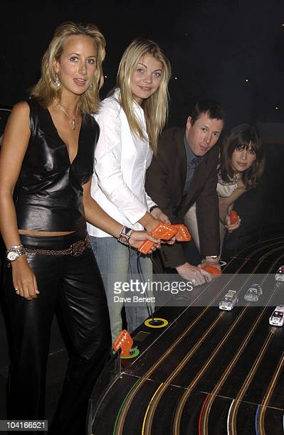 Lady Victoria Hervey Jemma Kidd Colin Mcrae Lisa B Ford Rallye Sport Celebrates The Start Of The World Rally Chapionship 2002 At The Bluebird...