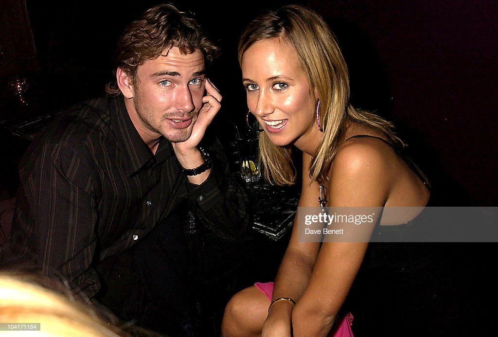 Lady Victoria Hervey With The New Man In Her Life Winner Of Model Behaviour, 'The Banger Sisters' Movie Premiere Held At The Warner West End, Then The Party At Jewel In Picadilly, London