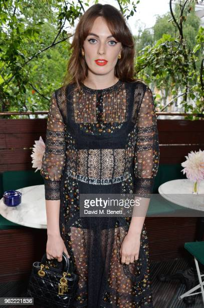 Lady Violet Manners attends a private dinner hosted by Cartier to celebrate the opening of the British Polo Season at Casa Cruz on May 24 2018 in...