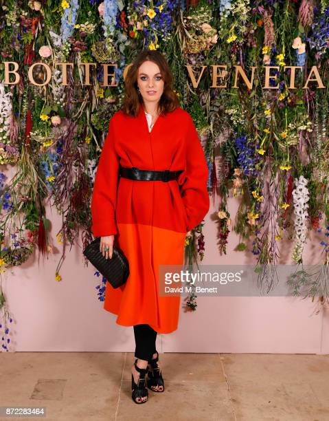 Lady Violet Manners attends Bottega Veneta's 'The Hand of the Artisan Cocktail Dinner' at Chiswick House And Gardens on November 9 2017 in London...