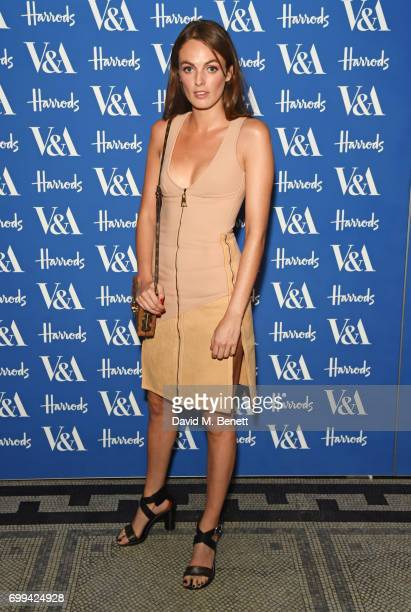 Lady Violet Manners attends the 2017 annual VA Summer Party in partnership with Harrods at the Victoria and Albert Museum on June 21 2017 in London...