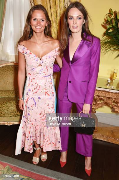 Lady Violet Manners attends the Harper's Bazaar 150th Anniversary Party at William Kent House at The Ritz on May 2 2017 in London England