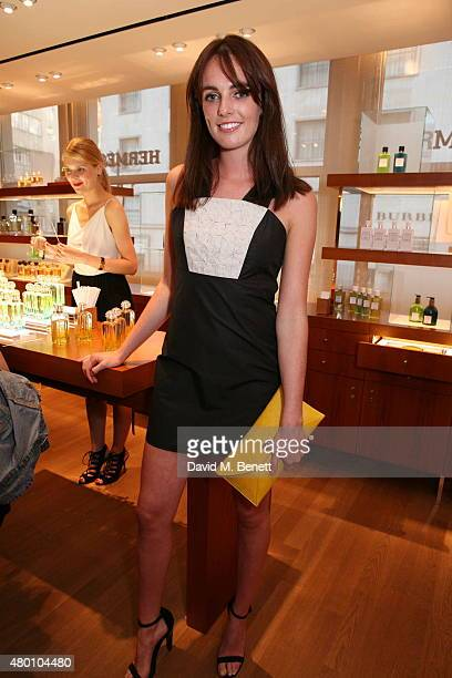 Lady Violet Manners attends the launch of new fragrance 'Le Jardin De Monsieur Li' by Hermes Paris hosted by Mr Fogg's of Mayfair at the Hermes Bond...