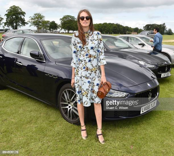 Lady Violet Manners attends the Maserati Polo Tour 2017 at Beaufort Polo Club on June 11 2017 in Tetbury England