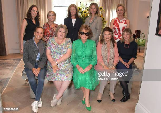 Lady Violet Manners, Tracey Compton, Marchioness of Northampton,, Lady Gerald Fitzalan-Howard, Lady Charlotte Brudenell, Lady Henrietta...