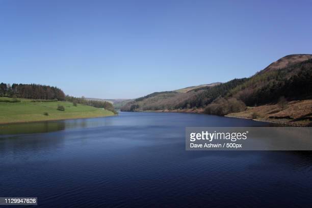 ladybower reservoir - dave ashwin stock pictures, royalty-free photos & images