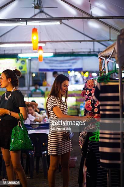 ladyboys shopping fashion - ladyboys of bangkok stock photos and pictures