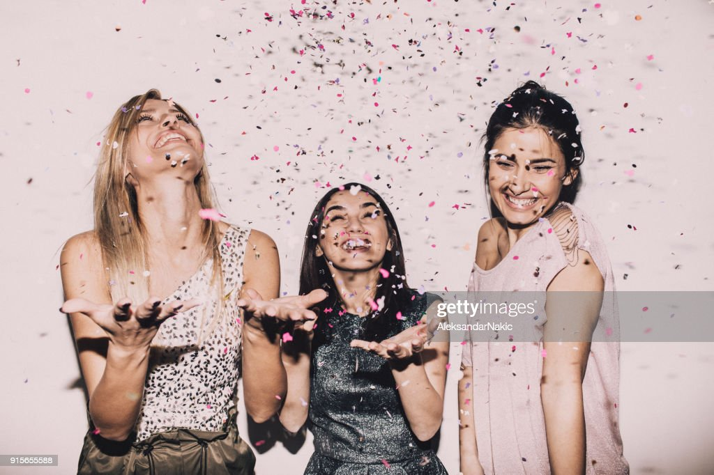 Lady's party : Stock Photo