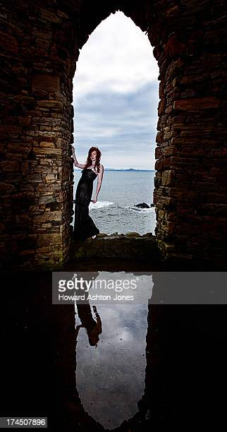 ladys tower - fife scotland stock pictures, royalty-free photos & images