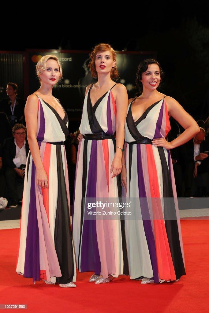 "ITA: ""The Summer House (Les Estivants)"" Red Carpet Arrivals - 75th Venice Film Festival"
