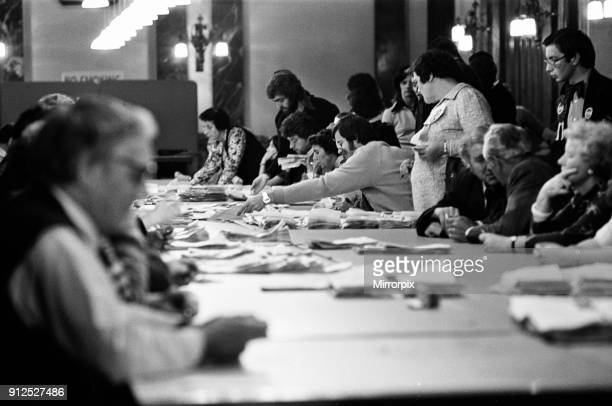 Ladywood, Birmingham, By-election, 18th August 1977. At the count.