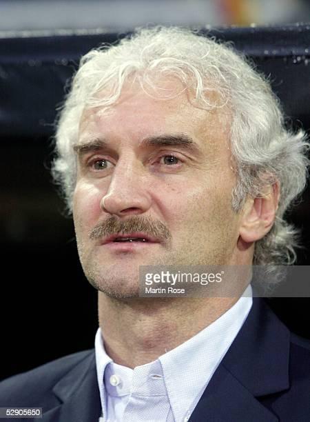 Laenderspiel 2003, Bremen; Deutschland - Serbien-Montenegro 1:0; Teamchef Rudi VOELLER/GER