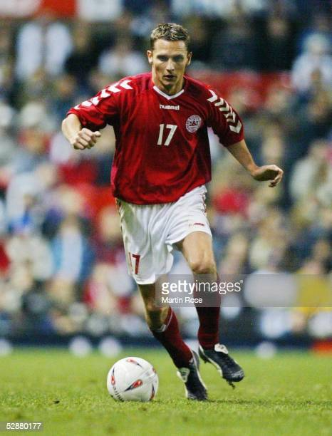Laenderspiel 2003 Manchester England Daenemark 23 Peter LOEVENKRANDS/DEN