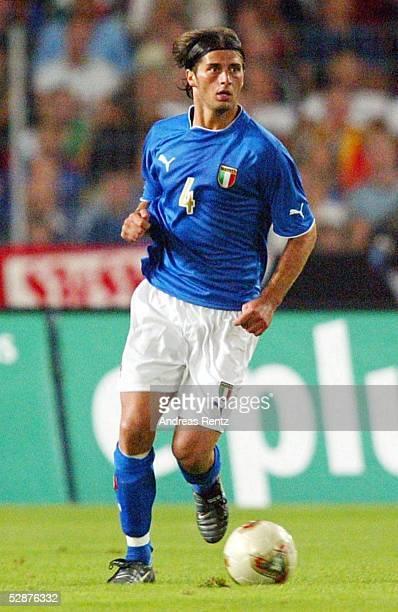Laenderspiel 2003 Stuttgart Deutschland Italien 01 Alessio TACCHINARDI/ITA