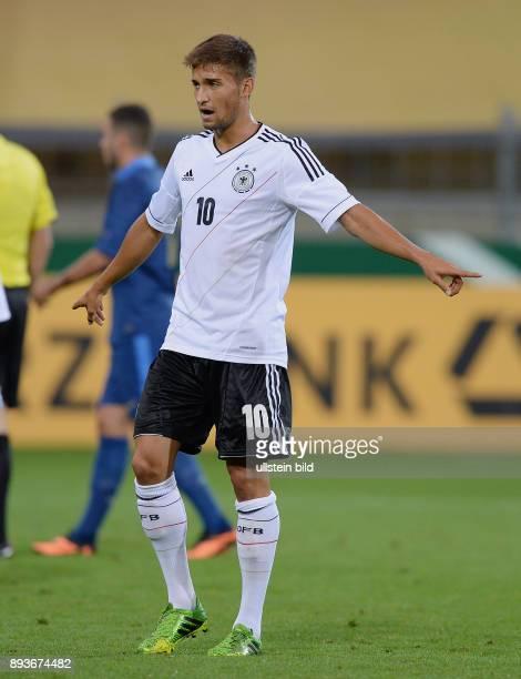FUSSBALL INTERNATIONAL Laenderspiel Freundschaftsspiel U Deutschland Frankreich Moritz Leitner