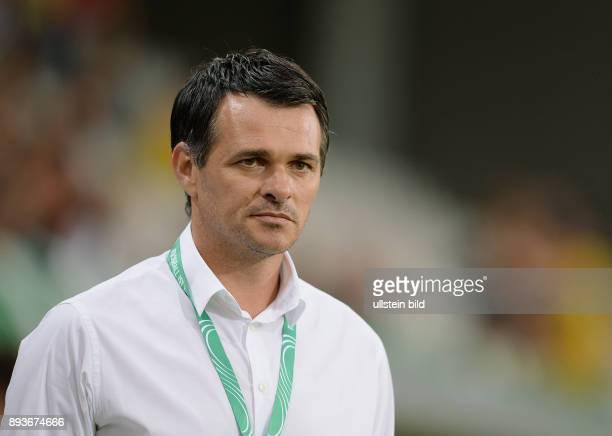 FUSSBALL INTERNATIONAL Laenderspiel Freundschaftsspiel U Deutschland Frankreich Trainer Willi Sagnol