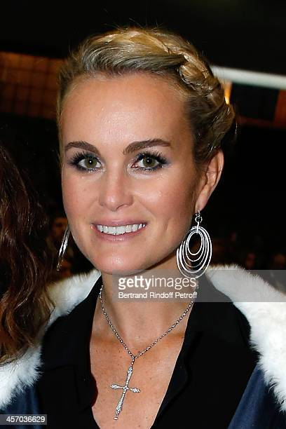 Laeticia Hallyday attends the Reves d'Enfants Arop charity event at Opera Bastille on December 15 2013 in Paris France
