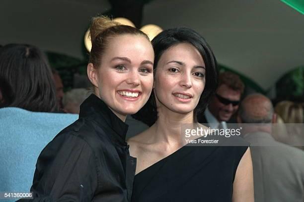 Laeticia Hallyday et Jacqueline Carignon.