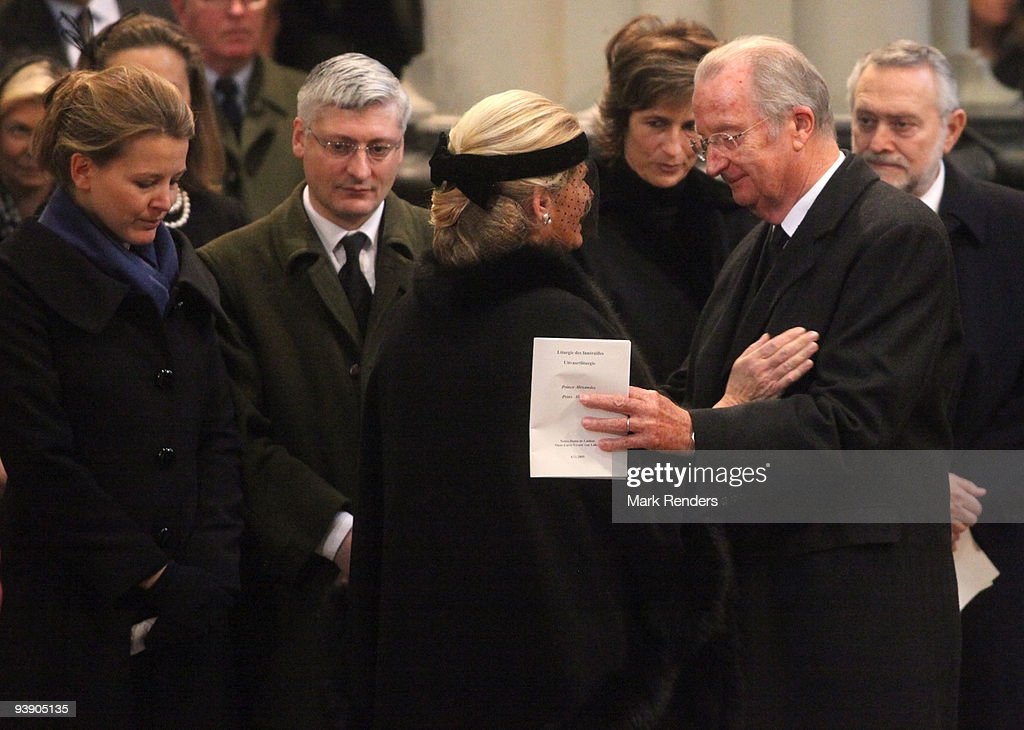 Prince Alexandre of Belgium Funerals : News Photo