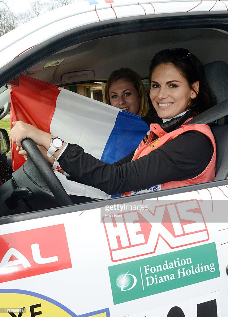 '24th Rallye Aicha Des Gazelles 2014' : Departure At Trocadero In Paris