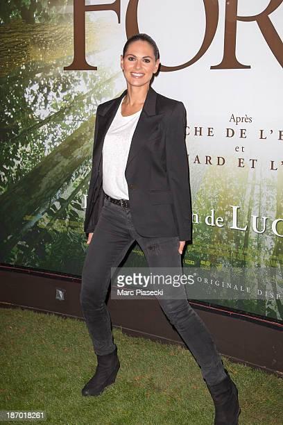 Laetitia Bleger attends the 'Il etait une foret' Paris Premiere at Cinema Gaumont Marignan on November 5 2013 in Paris France