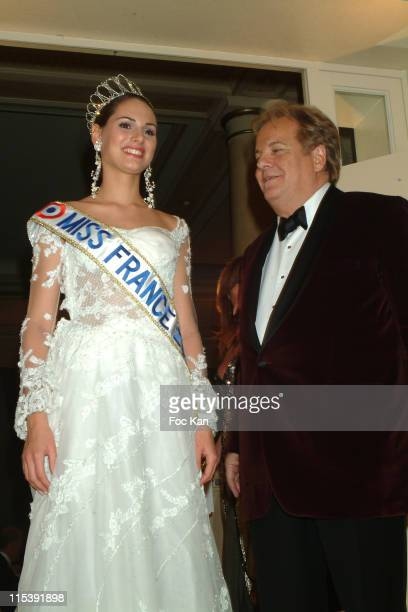 Laetitia Bleger Miss France 2004 and Massimo Gargia