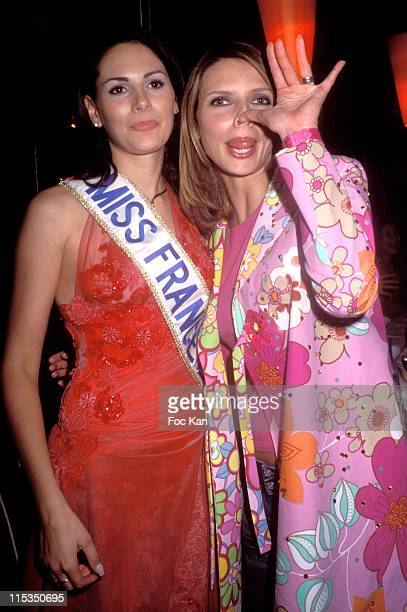 Laetitia Bleger Miss France 2004 and Sylvie Tellier
