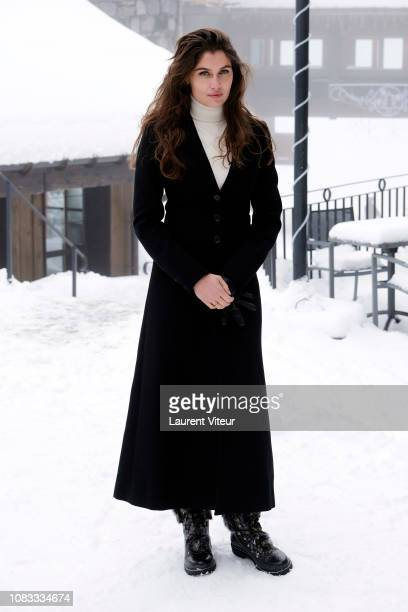 Laetitia Casta attends 10th Les Arcs Film Festival on December 16 2018 in Les Arcs 1950 France